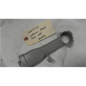 MAYTAG DISHWASHER 8268343 INTERNAL REAR FEED CAP