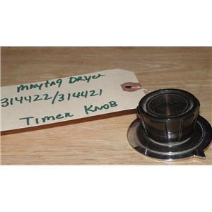 MAYTAG GAS DRYER 314422 314421 TIMER KNOB