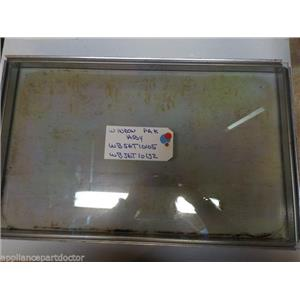 GE STOVE WB56T10105 WB56T10152 Pack Window Asm    USED