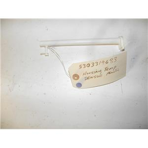 FRIGIDAIRE REFRIGERATOR 5303319683 HOUSING TEMP SENSOR PLASTIC USED PART F/S