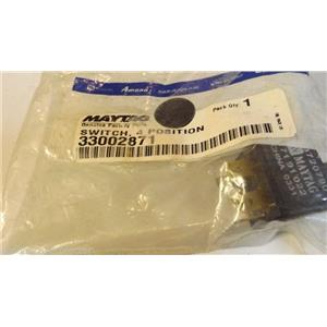 MAYTAG WHIRLPOOL WASHER 33002871 Switch, 4 position  NEW IN BAG