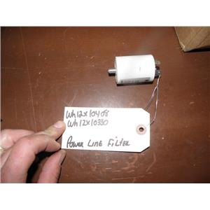 GENERAL ELECTRIC GE WH12X10408 WH12X10330 POWER LINE FILTER USED PART ASSEMBLY