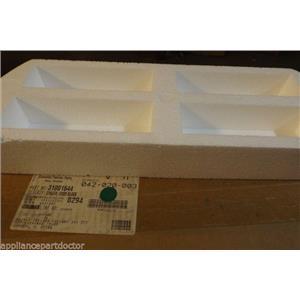 WHIRLPOOL DRYER 31001644 Spacer, Door Block   NEW IN BOX