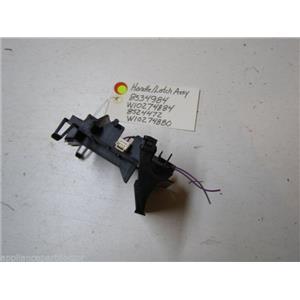 WHIRLPOOL DISHWASHER 8534984 W10274884 8524472 W10274880 BLK LATCH HANDLE W/BOLT