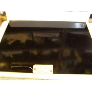 AMANA STOVE 315912W  Assy, Top & Glass art6110 Wht    USED