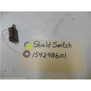 ELECTROLUX DISHWASHER 154248601 SWITCH SHIELD USED PART ASSEMBLY