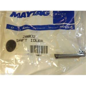 Maytag Speed Queen Washer 28802  Shaft,idler    NEW IN BOX