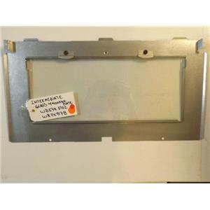 GE STOVE WB57K5102 WB2X9178 Ov Dr Intermediate Glass W/Glass Mounting Plate USED
