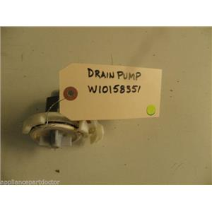 KENMORE DISHWASHER W10158351 DRAIN PUMP USED PART ASSEMBLY F/S