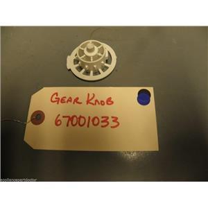 Kenmore Whirlpool Refrigerator 67001033 Knob, Gear  USED