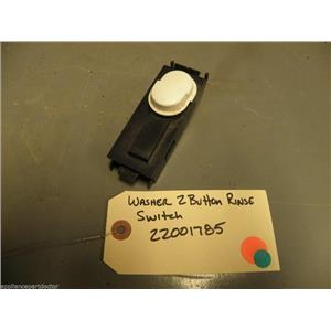 Maytag WASHER 22001785  2 Button Rinse Switch used