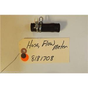 WHIRLPOOL Washer 8181708 Hose, Flowmeter   used part