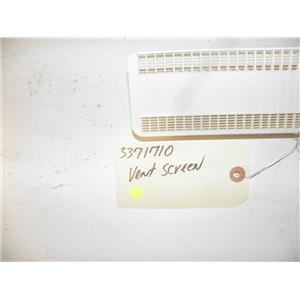 WHIRLPOOL DISHWASHER 3371710 VENT SCREEN USED PART ASSEMBLY FREE SHIPPING