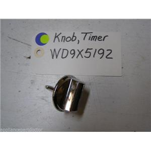 Ge Dishwasher WD9X5192 Knob Timer  used part assembly