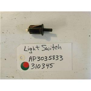 Whirlpool STOVE 310345 Switch, Door USED PART