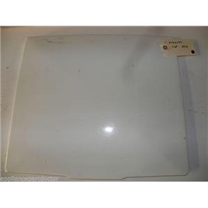 MAYTAG WASHER 27001192 BSQ LID WITH INSTRUCTION USED PART ASSEMBLY
