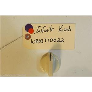 KENMORE  STOVE WB03T10022  Infinite knob almond    USED