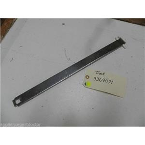 WHIRLPOOL DISHWASHER 3369071 TRACK USED PART ASSEMBLY