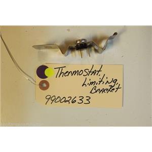 MAYTAG DISHWASHER 99002633 Thermostat, Limiting, bracket  used part