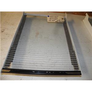 GE REFRIGERATOR WR71X2177 WR72X273 WR17X2241 CANT SHELF W/ MEAT TRAY SLIDE USED