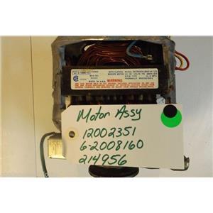 MAYTAG  Washer 12002351  6-2008160  214956  Motor  used part
