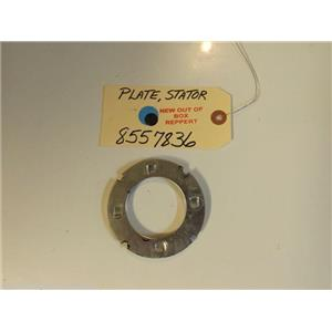 Whirlpool Washer   8557836  Plate, Stator   new w/o box