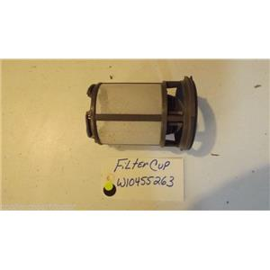 WHIRLPOOL DISHWASHER W10455263 Filter Cup used part