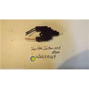 GE Dishwasher WD21X10169 Switch Interlock  USED PART