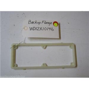 GE DISHWASHER WD12X10146 BACKUP FLANGE USED PART ASSEMBLY
