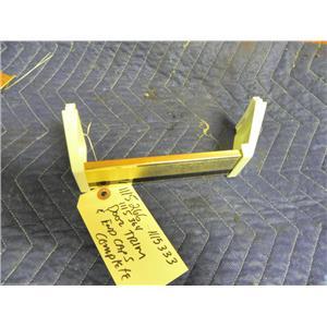 WHIRLPOOL REFRIGERATOR 1115266 1115364 1115333 DOOR SHELF TRIM & END CAPS USED