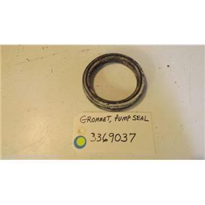 WHIRLPOOL DISHWASHER 3369037 Grommet, Pump Seal  used part
