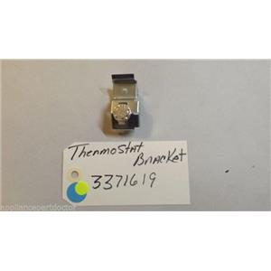 KENMORE  dishwasher  3371619 thermostat W/  bracket USED PART