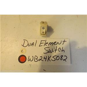 GE STOVE WB24K5082 Dual Element Switch  USED PART