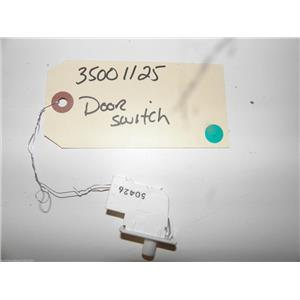 MAYTAG DRYER 35001125 DOOR SWITCH USED PART ASSEMBLY F/S