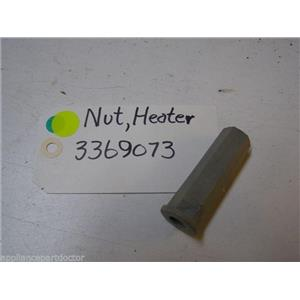 WHIRLPOOL DISHWASHER 3369073 HEATER TERMINAL NUT USED PART ASSEMBLY
