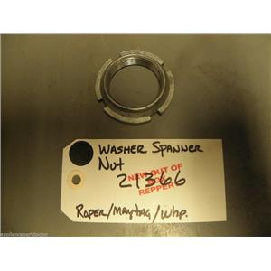 Maytag Roper Whirlpool Washer 21366  Spanner Nut  new w/o box