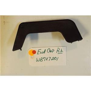 GE STOVE WB7X7201 Cap End Lamp Rh used