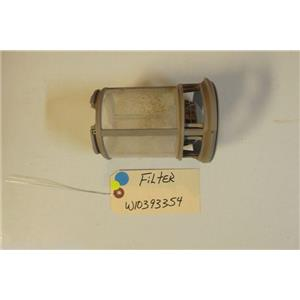 KENMORE DISHWASHER W10393354  Filter  USED PART