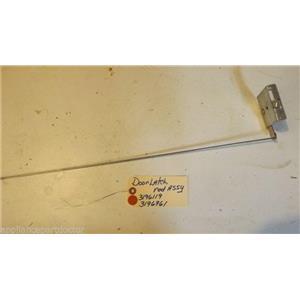 KENMORE STOVE 3196119  3196961 door latch, rod  USED  PART