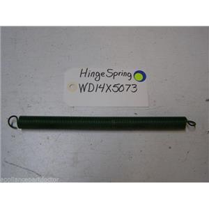 Ge Dishwasher WD14X5073 Hinge Spring used part assembly