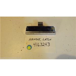 KITCHEN AID Dishwasher 4163243  Handle, Latch  USED PART