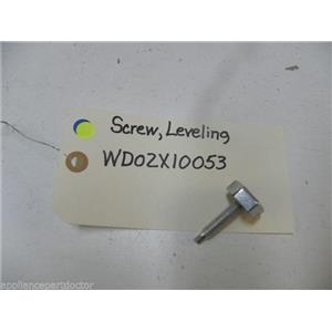 GE DISHWASHER WD02X10053 LEVELING SCREW USED PART ASSEMBLY