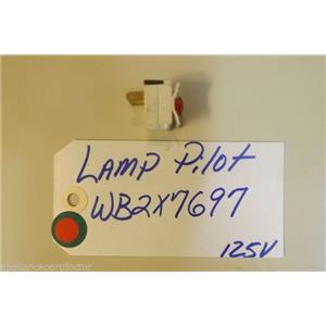 GE STOVE WB2X7697 Lamp Pilot 125v  USED PART