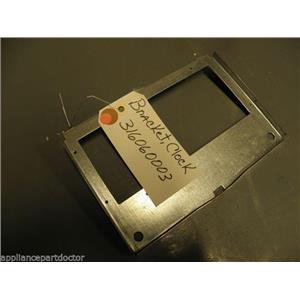 FRIGIDAIRE STOVE 316060003 Bracket, Clock USED