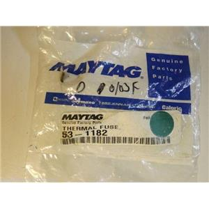 Maytag Admiral Dryer  53-1182 Fuse, Thermal  NEW IN BOX
