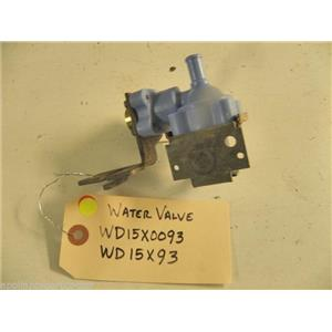 KENMORE DISHWASHER WD15X0093 WD15X93 WATER VALVE USED PART ASSEMBLY