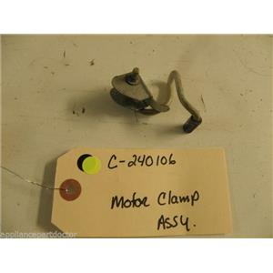 WHIRLPOOL HOBART KITCHEN AID DISHWASHER C-240106 C240106 MOTOR CLAMP USED PART