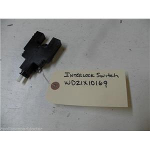 GE DISHWASHER WD21X10169 INTERLOCK SWITCH USED PART ASSEMBLY