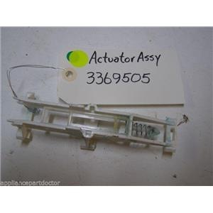 WHIRLPOOL DISHWASHER 3369505 ACTUATOR USED PART ASSEMBLY