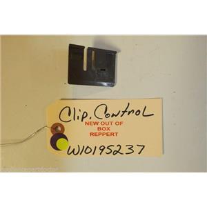 KITCHENAID DISHWASHER W10195237 Clip. Control   NEW W/O BOX